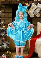 Детский карнавальный костюм для девочки Мальвина 3-8 лет. Оптом