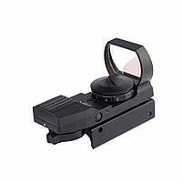 AURKTECH Hunting HD101A Tactical 1X20mm Airsoft Зеленая красная точка Reflex Sight с 4 Тип Reticle