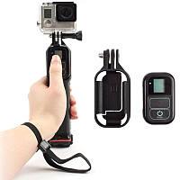 Плавающий карманный моноподный плавучий столб с клипом WIFI Дистанционное Управление для Gopro Hero 5 4 3 2 1 Xiaomi Yi SJCAM камера
