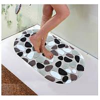 Honana BX-118 ПВХ Нескользящие коврики для ванной душ Pebble Антипробуксовочная ванной Ковер Туалет Коврики Ванная комната Этаж Ковер