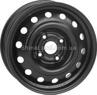 Стальные диски КрКз Renault (Dacia) Logan (MCV) 6.0x15/4x100 D60.1 ET50 (Mist Black)