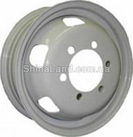 Стальные диски КрКз ГАЗ 3302 (квадр. отв.) 5.5x16/6x170 D130.1 ET105 (White)