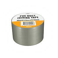 ПВХ Канальные ленты Водонепроницаемый Heavy Duty Gaffa ткань Silver Grey 3000x4.8cm