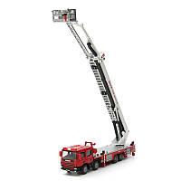 Масштаб 1:50 строительства Diecast антенна пожара грузовик автомобили модели игрушка