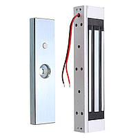 Одиночная дверь 12V Электрический магнитный электромагнитный замок 180KG (350LB)