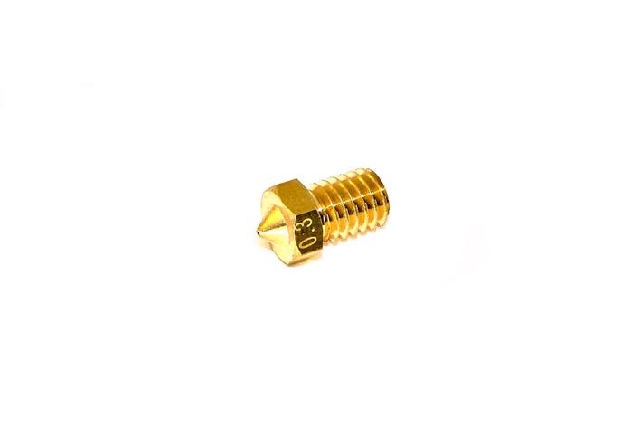 Сопло нагревательного блока хотэнда E3D V5/V6 0,3 мм, фото 2