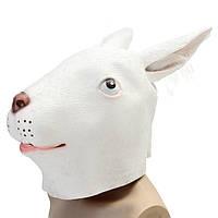 Кролик маски Creepy животных Хэллоуин костюм театра опора партии Cosplay Deluxe Латекс
