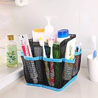 Хонана BX-24 Ванная косметическая сумка для хранения сумки Ручка Home Travel Organizer Чистая марля мешок