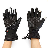Водонепроницаемый сенсорный экран перчатки для верховой езды полный палец мужчины зима теплая для PRO-BIKER