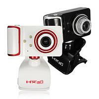 HXSJ S10 USB Проводная 130 Вт пикселей 3LED ночного видения веб-камера с ноутбуком Mic PC