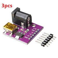 3шт cjmcu 5v мини-USB разъем разъем питания постоянного тока с платой питания для Arduino