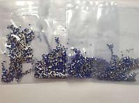 Стразы для ногтей. профессиональный маникюр. 20 цветов, 5 размеров. упаковка 1440 шт различного размера.