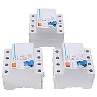 AC 400V 25/40/63A 4-полюсный номинальный ток Дополнительный защитный миниатюрный автоматический выключатель