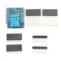 3шт Wemos® DHT11 Цифровой сенсор температуры для одиночной шины для WeMos D1 Mini