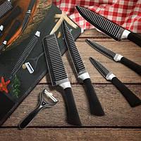 Kcasa KC-3Cr13I 6 штук 3Cr13 Набор кухонных ножей из нержавеющей стали Chef Carving Cleaver Utility Knife