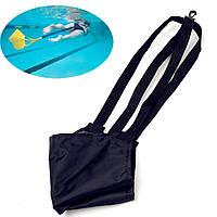 Вода плавать тренировки сопротивление лямка ремня буксировки трос тренер плавание противостоять парашютом помощь