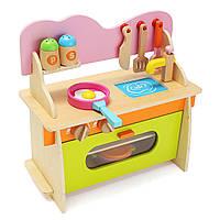 36 * 17 * 36см красочная кухня деревянная древесина притвориться газовая плита модель игрушки набор для малышей подарки домой