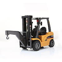 HuiNa 577 автопогрузчик сплав металла пластиковые 2.4G 8CH RC грузовик нескольких игроков игрушка подарок