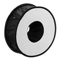 45CM Ring Macro Shoot Softbox Диффузор для Canon Nikon Nissin Metz Godox SpeedLite Фонарик