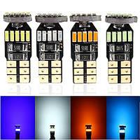 4014 LED белый голубой лед боковой габаритный фонарь колбы лампы T10 Ошибка CANbus бесплатно 15 СМД