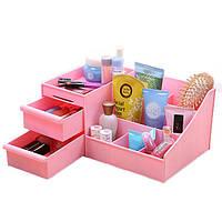 Honana HN-XS1 Большого рабочего стола Cosmetic хранение Box Ключевой Sundries Holder три слоя Главной Организатор