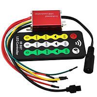 DC12V 4а * 3-х канальный водонепроницаемый LED диммер контроллер с IR пульт дистанционного управления для одного цвета LED полосы света