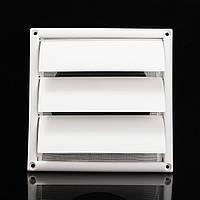 Воздушник решетка вентиляции крышка из пластика белой стене решетки воздуховодов 200x200x40mm