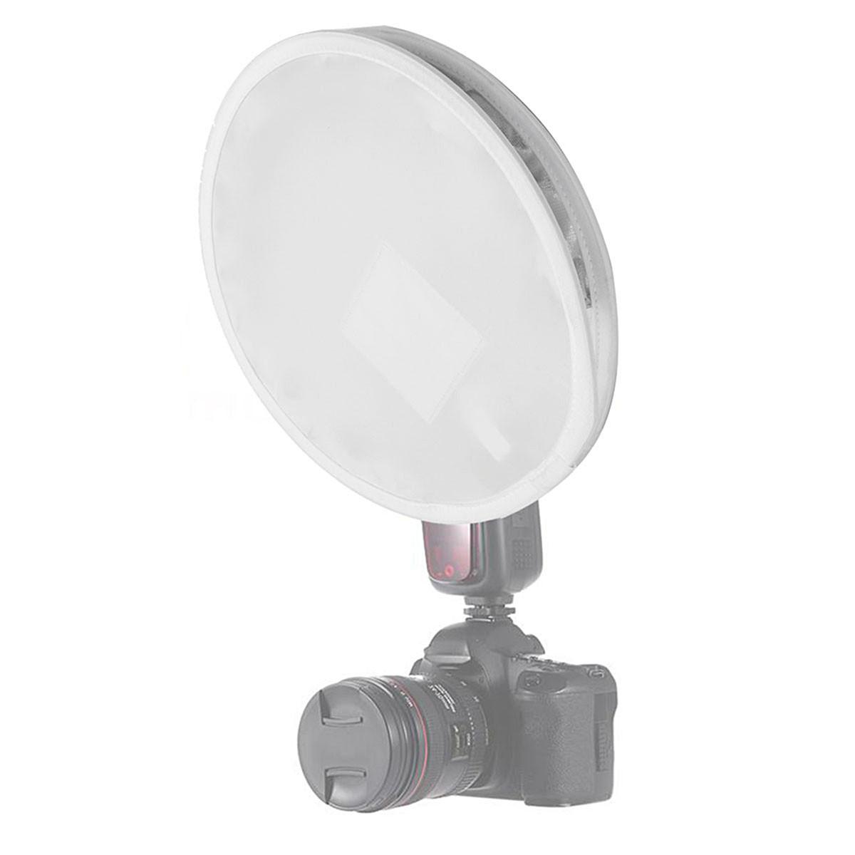 31см портативный мини круглый диффузор вспышка Speedlite софтбокс для Canon Nikon - ➊TopShop ➠ Товары из Китая с бесплатной доставкой в Украину! в Днепре