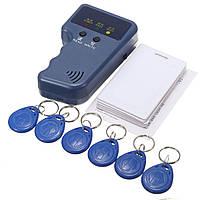 13Pcs 125KHz Handheld ID Replicator Writer / копировальный копировальный аппарат и 6 карт + теги порт