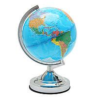 20 см.Карта глобуса в мире Географическая политическая планета Земля