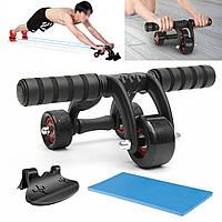 IPRee ™ 3 колеса Abdominal Roller Ab Muscle Fitness тренировочная система тренажерный зал тренажерный зал