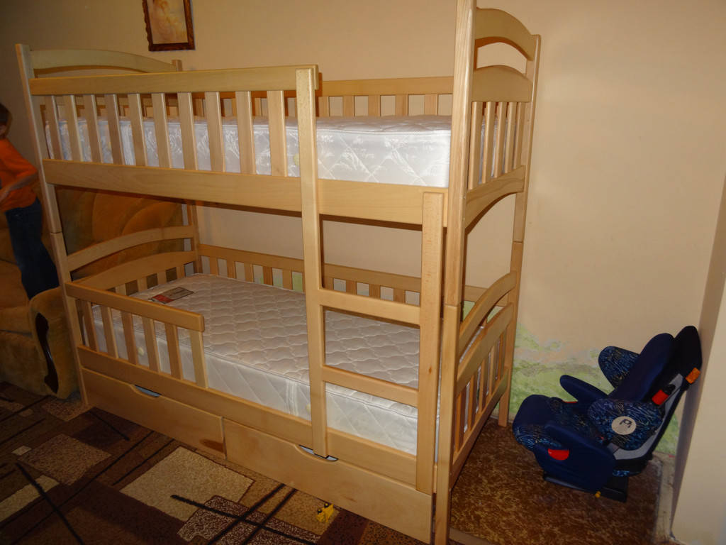 Ліжко двоярусне Каріна