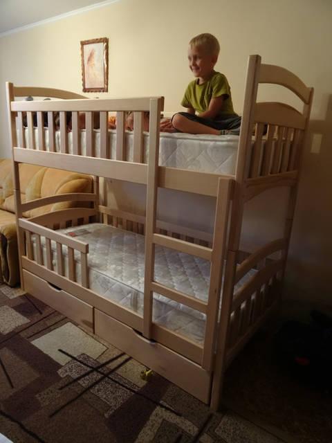 Ліжко двоярусне Каріна 1
