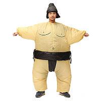 Сумо костюмированный вентилятора надувная костюм активного отдыха костюм партия оборудование 170см унисекс снаряжение