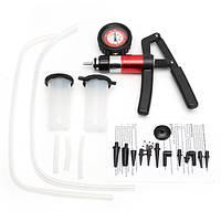 Тестер тормозного толкателя Ручное вакуумное давление Насос Комплект Авто Мотор Ремонт велосипедного гаража Инструмент