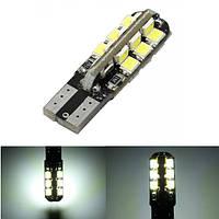 T10 3528 24SMD LED W5W белый LED автомобиль инструмент сторона ширина светильника электрической лампочки