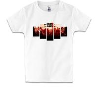 Детская футболка Война миров Z