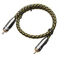 Стерео аудио межблочные RCA аудио кабели для конференц-ди-джей HiFi 50см