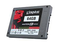 """БУ Накопитель SSD SATA 64GB Kingston SSDNow V+ 2.5"""" MLC (220/ 140) (SNV225-S2/ 6 (SNV225-S2/ 64GB)"""
