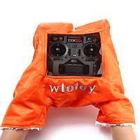 Модернизированный передатчик теплая рука перчатки Обложка Щит Зимний Открытый Полет для Flysky Frsky