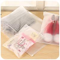 Толстый прозрачный водонепроницаемый мешок хранения одежды путешествия мытья защиты косметики пластиковый мешок для хранения