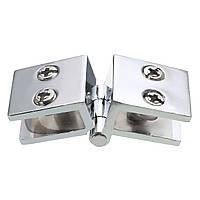 180 градусов зажим шарнира двойного действия для 5-8mm стеклянной двери шкафа шкафа