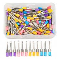 Плоские щетки для полировки комплект полировочные Prophy щетки Nylon 100шт 2.35 хвостовик красочный