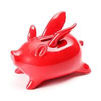 Xiaomi Red Керамика Flying Pig High Temp кальцинированный Сохранение Пот Новинка Главная Обстановка Статьи