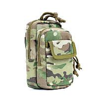 ВЕРА PRO Камуфляж Мобильный телефон Molle EDC Tactical ремень сумка пакет Водонепроницаемый чехол для хранения аксессуаров
