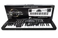 Пианино синтезатор 4916 от сети с микрофоном