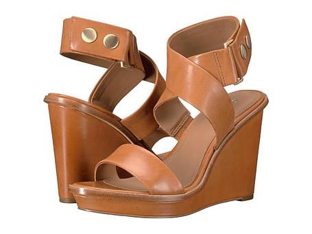 Сандали/Вьетнамки (Оригинал) Calvin Klein Pernina Almond Tan Leather, фото 2