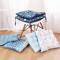 42x42см квадратный утолщение стул накладка подушка элегантный хлопок автомобильный коврик домашний декор дома Подушки