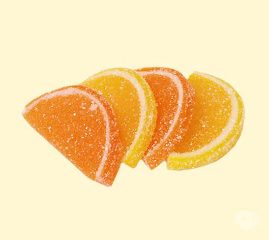 ТМ Красный пищевик Мармелад апельсиново-лимонные дольки 3кг Красный пищевик, фото 2