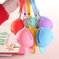Honana HN-B2 Творческий Симпатичные Силиконовые кошелек цвета конфеты Ключевые сумка Hat бейсболке монет сумка Организатор